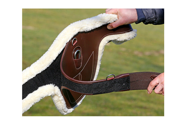Kentucky Horsewear Sheepskin Girth Cover