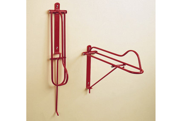 Stubbs Large Fold-Down Wall Mount Saddle Rack