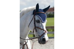 Rodrigo Pessoa Figure 8 Padded Jumper Bridle with Rubber Covered Reins