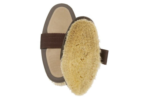 Equi-Essentials Soft Natural Goat Hair Body Brush