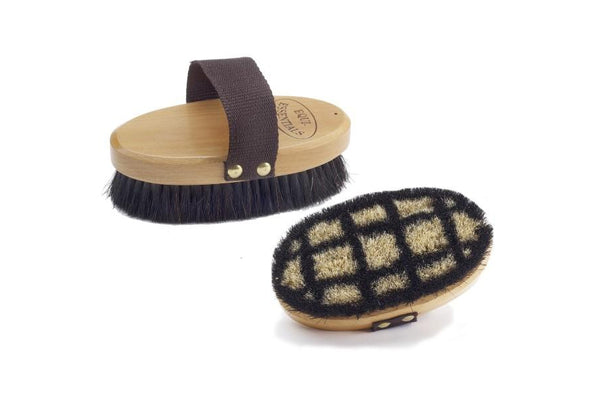Equi-Essentials Back Body Brush with Horse Hair
