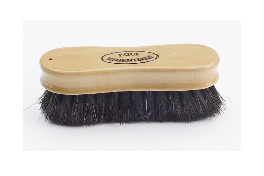 Equi-Essentials Wood Back Face Brush with Horse Hair