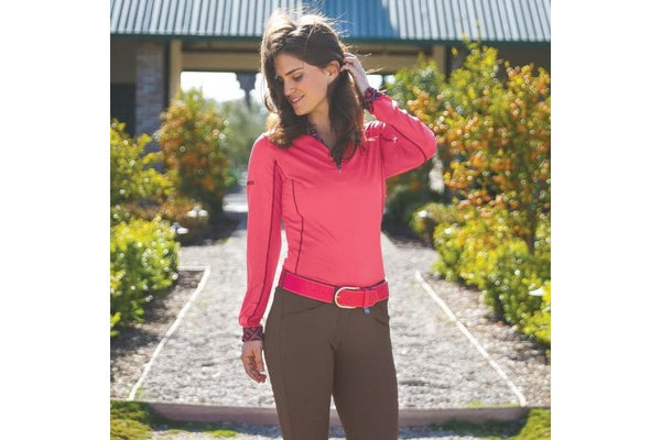Romfh Equestrian Apparel Gabriella Silicone Knee Patch Breech