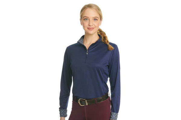 Ovation Ladies' Cool Rider Tech Shirt - Long Sleeve