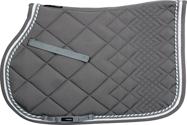 CATAGO Diamond All Purpose Saddle Pad Grey