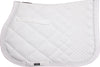 CATAGO Diamond All Purpose Saddle Pad White