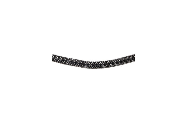 Montar Curved Passage All Black Browband