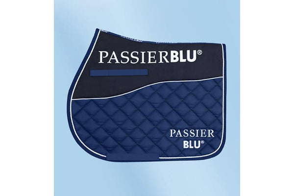 Passier Blu Jumping Saddle Cloth