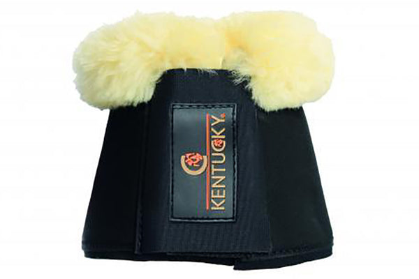 Kentucky Horsewear Sheepskin Overreach Boots