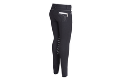 Montar Childrens Breeches with Silver Glitter Knee Grips