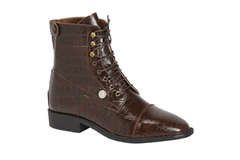 Montar Croco Jodhpur Boots with Laces