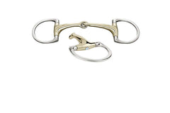 Herm Sprenger Shine Bright Dynamic RS Eggbutt Sensogan w/Swarovski Crystal