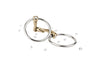 Herm Sprenger Shine Bright Dynamic RS Loose Ring Sensogan Snaffle w/ Swarovski Crystal