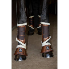 SD Design Sparkle Bell Boots Brown