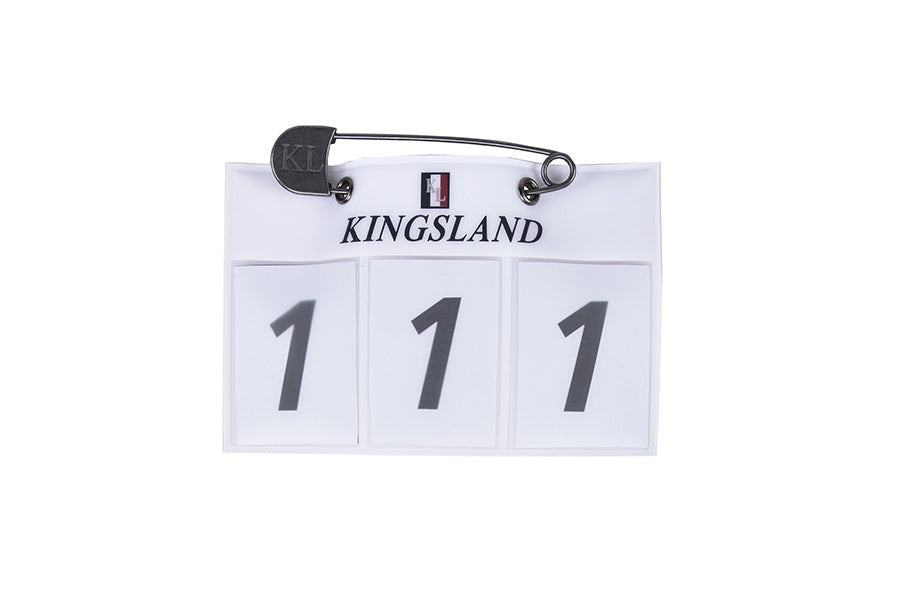 Kingsland Number Plate (and Pins)