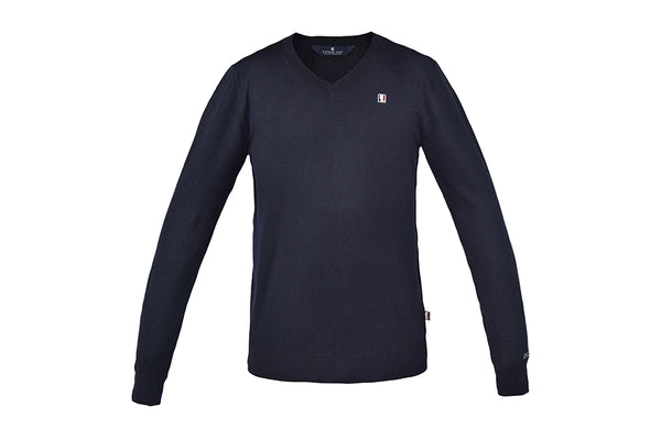 Kingsland Classic Mens Knitted Pullover V-Neck