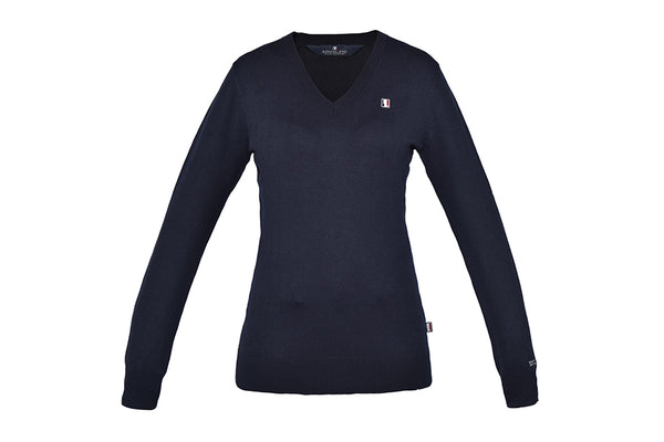 Kingsland Classic Ladies Knitted Pullover V-Neck