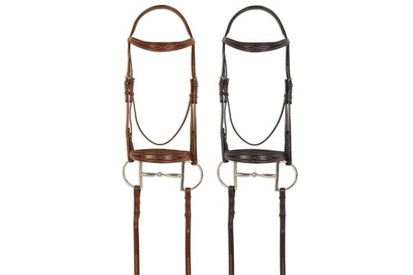 Pessoa Pro Fancy Stitched Tapered Bridle