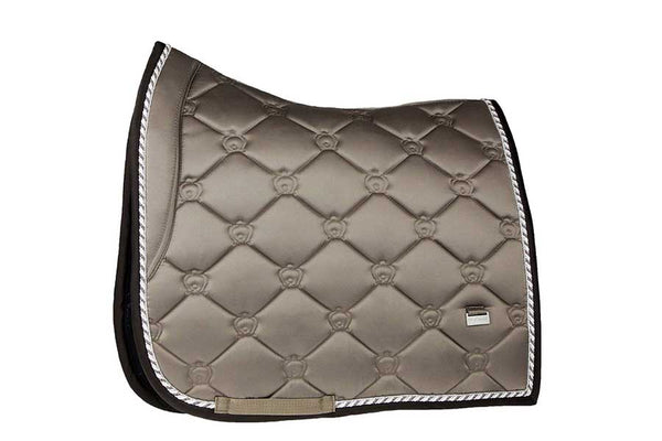 PS of Sweden Ice Coffee Monogram Dressage Saddle Pad