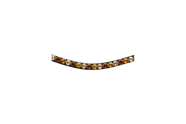 Montar Curved Mighty Mix Browband Brown
