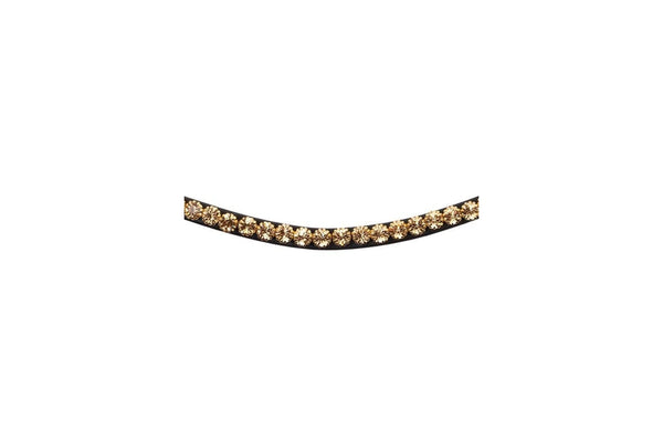 Montar Curved Mighty Gold Browband