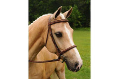 Arc de Triomphe Imperial Bridle with Raised Fancy Laced Reins