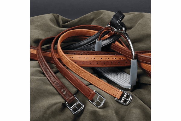 Arc de Triomphe Calfskin Covered Stirrup Leathers