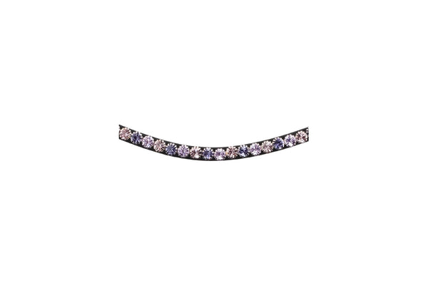 Montar Curved Mighty Mix Violet Browband