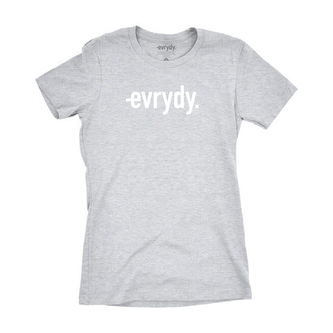 ORIGINAL EVRYDY. WOMEN'S HEATHER GREY
