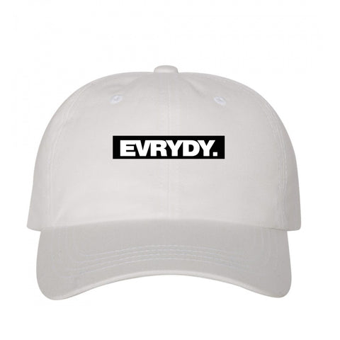 Evrydy. Block Cap White