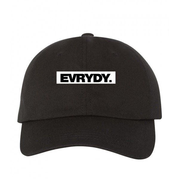 Evrydy. Block Cap Black