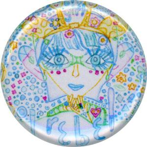 Bluegirl, Timid, Rebel, Cute, Colorful, Button, Magnet