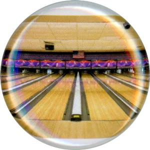 Bowling, Great American Tradition, Unique, Fun, Funky, Button, Magnet