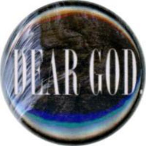 Dear God, Unique, Fun, Funky, Quirky, Collectible, Button, Magnet