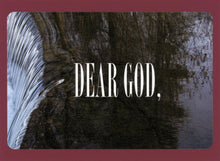 Dear God, Unique, Fun, Funky, Quirky, Collectible, Notecard