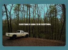Everything Is Going To Be Everything, Unique, Affordable, Funky, Quirky, Collectible, Notecard