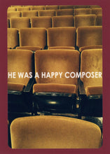 He Was A Happy Composer, Colorful, Whimsical, Fun, Witty, Happy, Collectible, Notecard