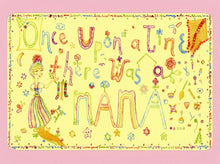 Once Upon A Time There Was A Mama, Cute, Collectible, Happy, Mothers Day, Notecard