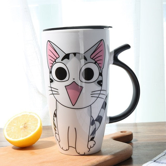 Cute Cat Coffee Mug