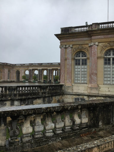 versailles on a rainy day