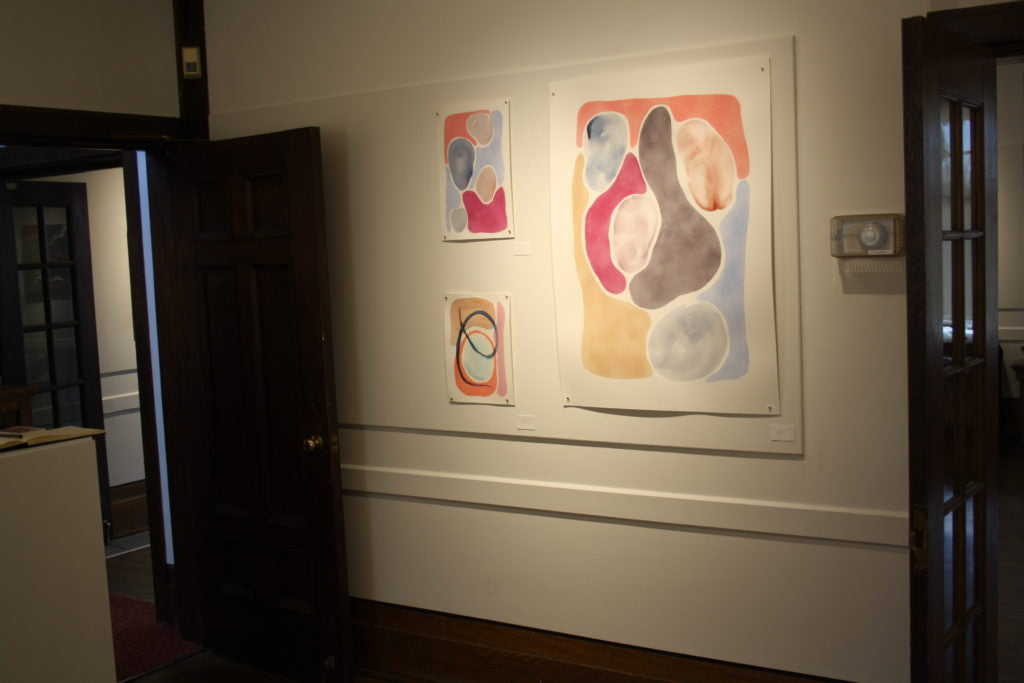 a wall from the venus in retrograde show