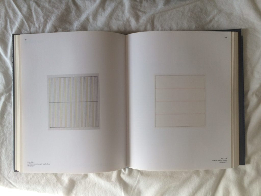 book of agnes martin painting