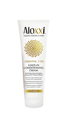 ESSENTIAL 7 OIL LEAVE-IN CONDITIONING CREAM by Aloxxi