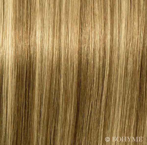 Essential 7pc Clip-In Silky Straight R8A-8A-BL22