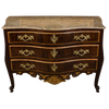 Danish Louis XV Serpentine Commode