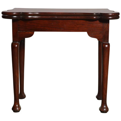 George I Mahogany Game Table