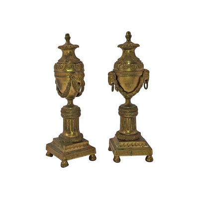 Louis XVI Bronze Cassollettes