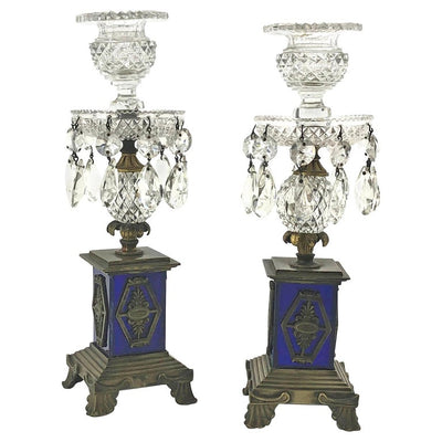 Pair of Regency Candlesticks