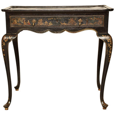 Queen Anne Lacquered Tea Table