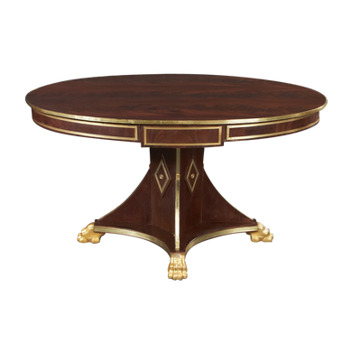 Russian Neo Classic Mahogany Center Table